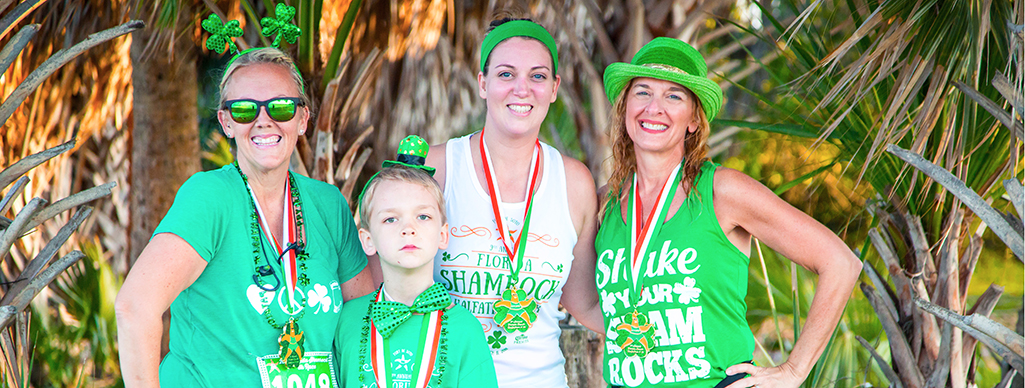 Florida Shamrock Halfathon & 5K Finishers