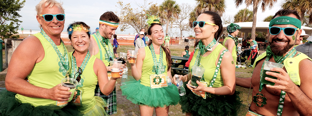 Florida Shamrock Halfathon Post Race Party & 5K